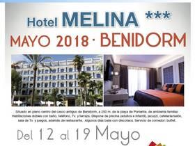 OFERTA MAYO EN HOTEL MELINA*** (BENIDORM)
